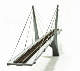"30"" HO Scale Suspension Bridge - CS30H"