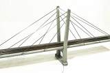 "40"" HO Scale Two Lane Suspension Bridge - CSW40H"