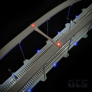 Blue, Red & White LED Lighting Kit