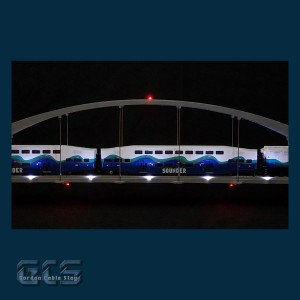 "36"" HO Scale Arch Bridge, AR36"